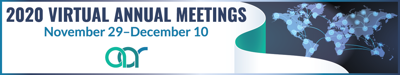 2020 Virtual Annual Meetings - 11/29 to 12/10